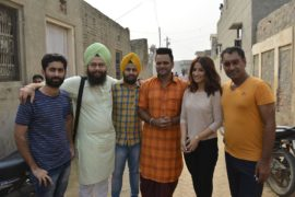 """On location shoot of Punjabi film """"Family 420 Once Again"""""""